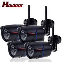 Buy 4 PCS WIFI camera IP Camera Security Camera ONVIF P2P 1920*1080P CCTV IP Cam Motion Detection IP65 Waterproof IR Night Vision for $151.14 in AliExpress store
