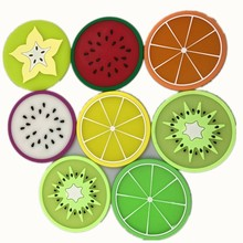 Creative Fruit Shape Antiskid heat Insulation Coaster Bowl Mats Placemat Table Mat Cup Mat Meal Pad Home Kitchen