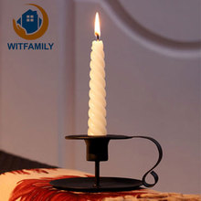 Christmas Hanging Tealight Holder Glass ORB iron dining table decoration home accessories candle table Wedding Bar Decor(China)
