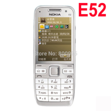 Original Nokia E52 Mobile Phone Arabic English Russian Keyboard Refurbished(China)
