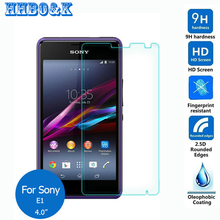 For Sony Xperia E1 Tempered Glass Screen Protector 2.5 9h Safety Protective Film on D2004 D2005 D2104 D2105 D2114 Dual 4.0