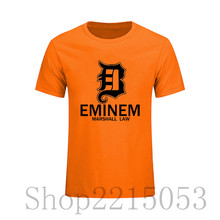 EMINEM T shirt Mens Skateboards Tops Hipster Tee eminem name 2017 ajax trasher dragon ball Anime tokyo ghoul male t-shirt tshirt(China)