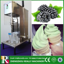 Chinese professional supplier gelato ice cream raw material fruit feeder mixer machine(China)