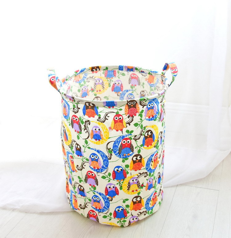 Free shipping Laundry Basket Storage 40*50cm Large Basket For Toy Washing Basket Dirty Clothes Sundries Storage Baskets Box 15