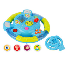 New Baby Toys Car Steering Wheel Shifter Children's Gift And Drive Track Sound Baby Kids Educational Toy Children Creative Gifts(China)