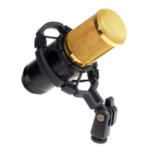 Hot sale BM-800 Dynamic Condenser Wired Microphone Mic Sound Studio for Recording Kit KTV Karaoke with Shock Mount(China)