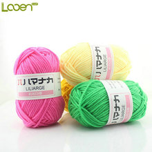 Wholesale! 25G/Pcs High Quality Home DIY Hand Knitting Yarns Soft Baby Cotton Yarn Scarf/Sweater Yarn For Hand Knitting