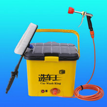 Portable electric car wash 2017 Automatic Car Washing Equipment 30L homeuse car washer 12V 50W tornador high pressure washer(China)