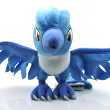 "Pokemon Character Plush Toy 7"" Pokemon Articuno Plush Toy Pocket Monster Stuffed Animals Toys Doll for Kids Gift Free Shipping"