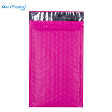 10pcs/4x7-Inch/120*180mm Poly Bubble Mailer Pink Self Seal Padded Envelopes