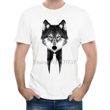 Newest 2017 Men's Funny Mr Wolf/Tiger/Lion Design T-Shirt Summer Fashion Novelty Customize Animal T Shirt High Quality Male Tops