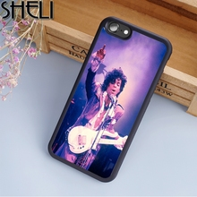 SHELI Prince Rogers Nelson Purple Phone Case For iPhone 6 6S Plus 7 8 Plus X 5S Back Cover For Samsung Galaxy S5 S6 S7 S8 edge(China)