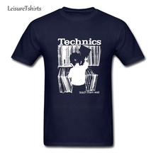 Technics 1 T Shirt Male Newest Personality Tee Shirt Home Wear Classic Comfortable T-Shirts Men Summer O Neck Cheap Teenboys Tee