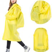 Adult Long Raincoat Travel Hiking Outdoor Rainwear Hoodie Rain Cape Unisex Poncho Tour Raincoat with Backpack Position
