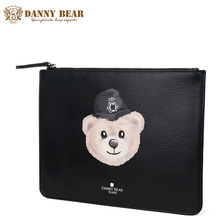 DANNY BEAR Women Vintage Leather Clutch Bag Fashion Ladies Brand Clutch Handbags Small Pu Leather Evening Party Clutches Purse