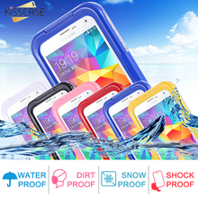 KISSCASE IP-68 Waterproof Hybrid Swimming Dive Case For Samsung Galaxy S5 I9600 SV Underwater Dirt/Shock Proof Phone Bag S5