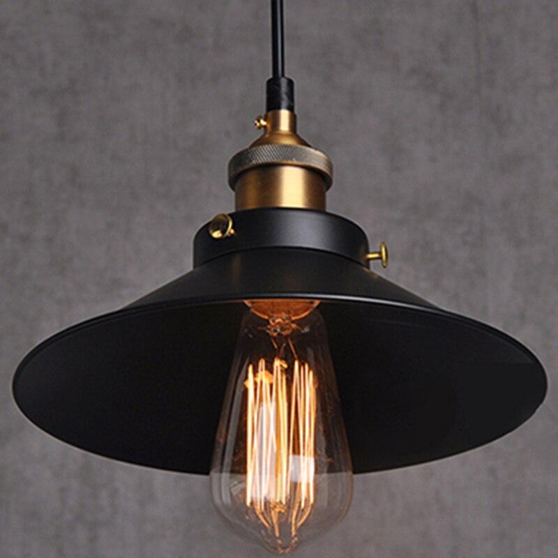 Iron Pendant Lights Vintage Lamp Dining Room Industrial Lighting Fixtures Retro Light Fittings Antique Designer Fashion Style  <br>