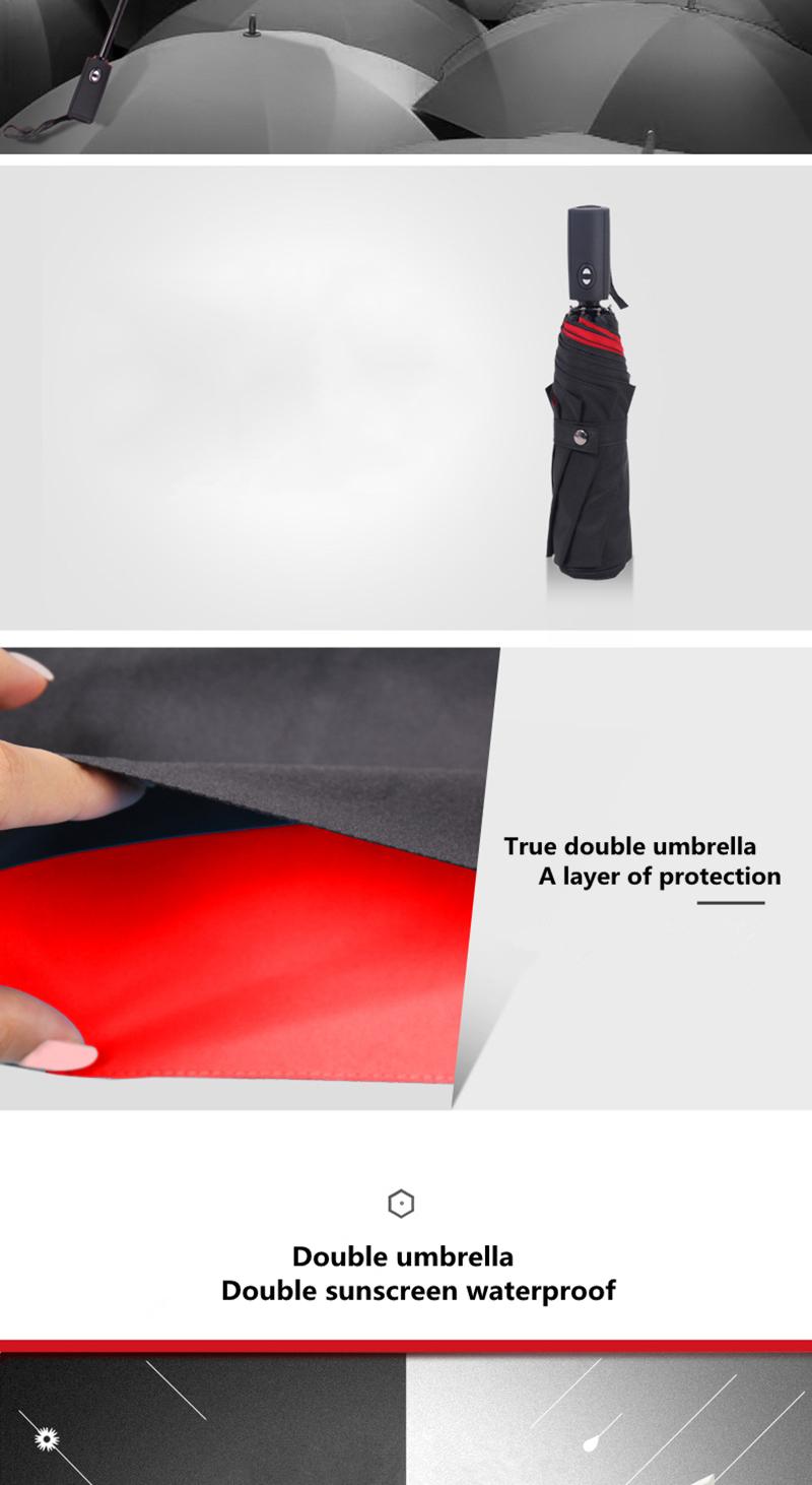 Kvaliteetsed kahevärvilised vihmavarjud
