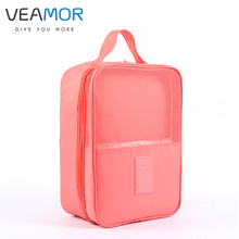VEAMOR Bags for Shoes Travel Suitcase Shoes Pouch Portable Waterproof Storage Bags Organizer with Mesh Bags B008