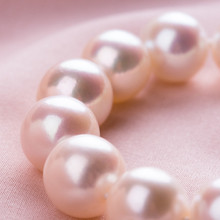 Women Gift word silver real 10-11mm round to Akoya flowers are comparable to Japanese sea pearl jewelry 89 necklace(China)