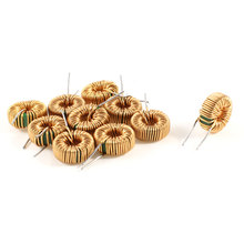UXCELL 10 Pcs Toroid Core Inductor Wire Wind Wound 10Mh 40Mohm 2A Coil