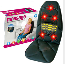 Car Home Office Full-Body Massage Cushion. Back Neck Massage Chair Massage Relaxation Car Seat. Heat Vibrate Mattress