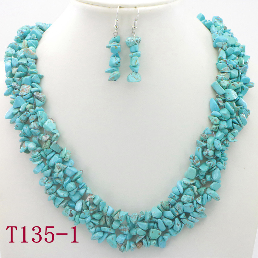 1 Natural Turquoise Necklace necklaces for women best friend necklace grandma necklace necklaces for girlfriend (11)