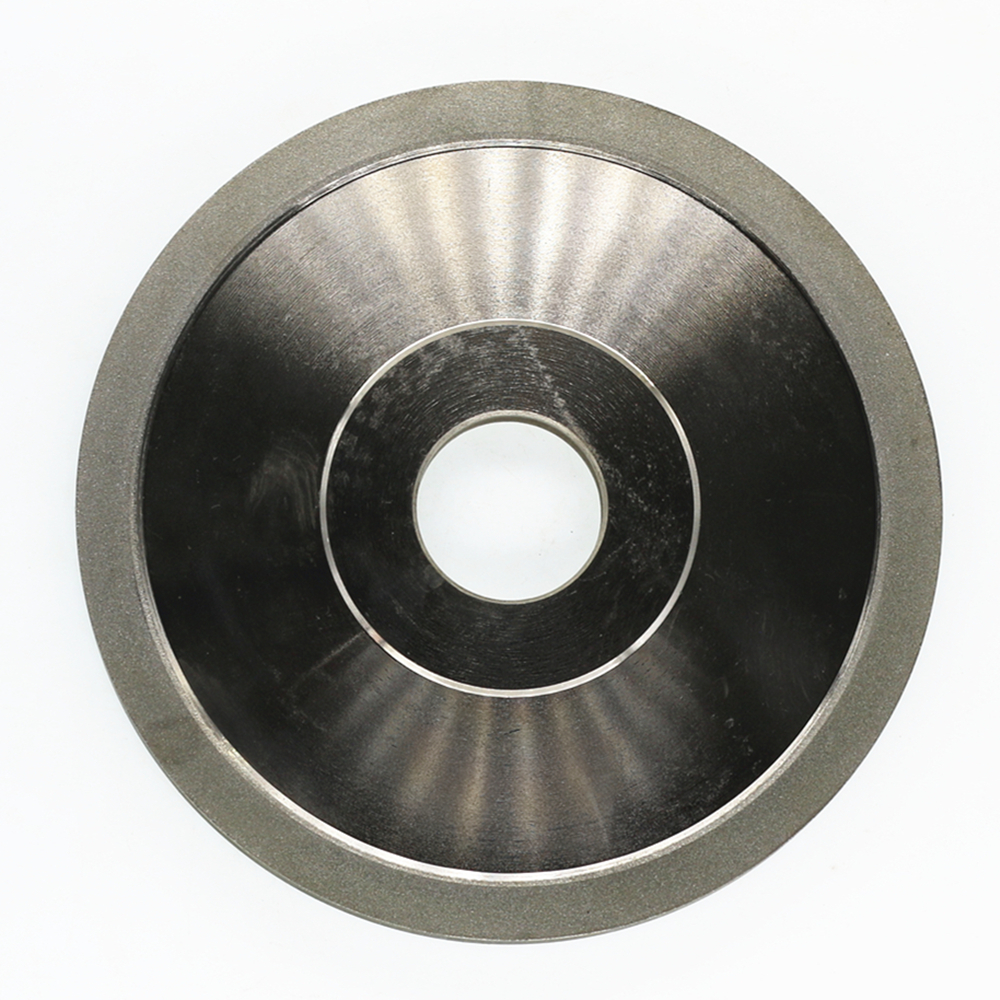 Diamond grinding wheel. Flat-shaped wheel. Electroplated diamond grinding wheel. 200*32*10*10<br>