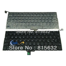 "Replace For MacBook Pro 13"" Unibody A1278 Italian / Italy Keyboard Black 2008 2009 2010 2011(China)"