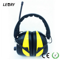 LEORY NRR 28dB Electronic Hearing Protector 3.5mm Connector MP3 AM FM Radio Headphone Headset Electronic Shooting Earmuffs(China)