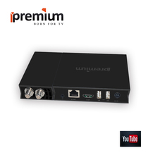 Tv Box Ipremium I9 Pro IPTV + DVB Twin Tuner Satellite Receiver