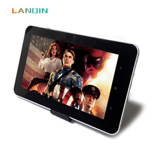 LANQIN Touch Screen 7 inch music MP4 digital Player Smart with speaker ebook reading & Photo Viewer game function(China)