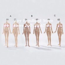 SUN & CLOUD 1:6 Scale Female Body Large & Medium Bust 3 Colors Collectible Nude Action Figure Doll Toys