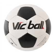 Machine Sewing Size 5# High Quality OEM black&white Soccer Ball(China)