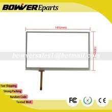 A+Resistance touch panel digitizer glass for AT070TN94 AT070TN93 AT070TN92   Navigation 4-wire welding resistive touch screen
