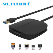 Vention SD Card Reader All in one USB 3.0 50cm Micro SD TF Multi Memory Card Reader Support 256GB For Macbook Laptop Computer(China)