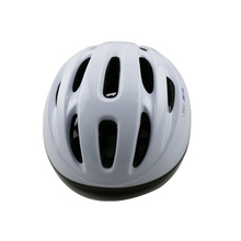 China manufactured out-mold white bicycle helmet PVC riding helmet children cheap sports gear