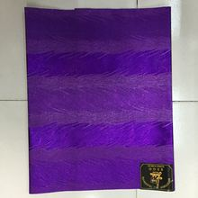 African Super Jubilee Sego Head Tie Wrap Scarf Flower Design Head Gear Nigeria Sego Headtie Gele & Wrapper In Purple 2pcs(China)