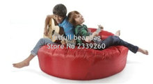 Cover only No Filler- red island bean bag chair, outdoor sofa cover , guitar playing chair(China)