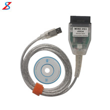 MINI VCI V10.30.029 Single Cable for Toyota Support for Toyota TIS OEM Diagnostic Software MINI VCI for Toyota J2534 Diagnosis