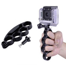 New Knuckles Hand Finger Grip Mount Handle Holder for GoPro For Hero HD 4/3+/3/2/1 Free Shipping