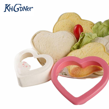 Sushi Maker Kitchen Magic Gadget Cooking Tools Sandwich Hearts Make Love Toast Bread Mould Cutter(China)