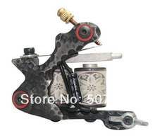 Top Quality Cast Iron Tattoo Machine Handmade Coil Machine Liner and Shader Free Shipping CTM-133