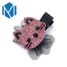 M MISM Korean Cat Cute Hair Clips Headwear Children Hairwear Baby Girl Hairpin Barrette Baby Hair Accessories(China)