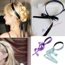 Trendy Magic Tool Quick Messy Donut Bun Hairstyle Girl Women Hair Bows Band Accessories Silk Headband New