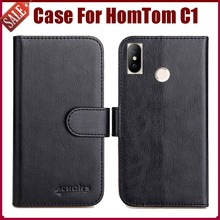 Buy Hot Sale! HomTom C1 (C2 Lite) Case New Arrival 6 Colors High Flip Leather Protective Phone Cover HomTom C1 Case for $4.59 in AliExpress store
