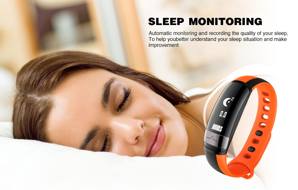 HUINIU Sport Smart Band Waterproof Bluetooth Bracelet Activity Tracker Heart Rate Monitor Smartband Message Reminder Wristbands 8