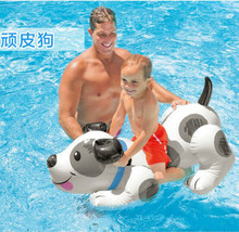 Hot sale summer outdoor inflatable games dog swimmer. .108*71   swimming pool toy