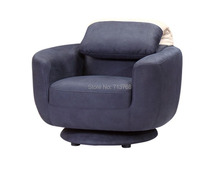2014  Wholesale living room swivel sofa chair floding