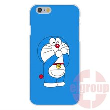 Fashion Doraemon Happy Cat s Soft TPU Silicon Phone Skin For Apple iPhone 4 4S 5 5C SE 6 6S 7 7S Plus 4.7 5.5